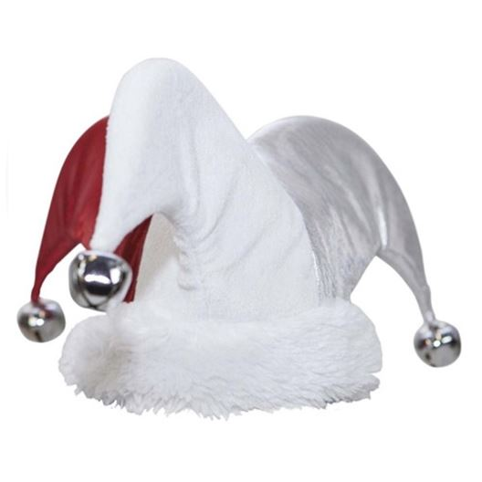 Picture of XMAS HOLIDAY CANINE Jester Hat - Large