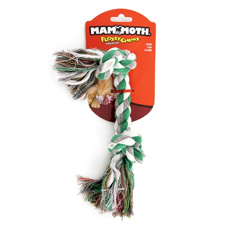Picture of CHEW ROPE FLOSS DOG Colored (20004F) Medium - 12in