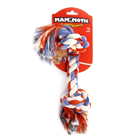 Picture of CHEW ROPE FLOSS DOG Colored (20006F/V) Large - 14in