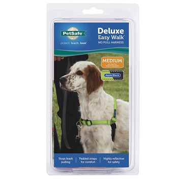 Picture of EASY WALK DELUXE NO PULL HARNESS Medium - Apple Green
