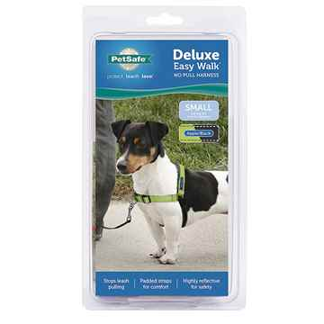 Picture of EASY WALK DELUXE NO PULL HARNESS Small - Apple Green