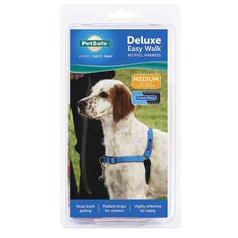 Picture of EASY WALK DELUXE NO PULL HARNESS Medium - Ocean Blue