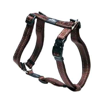 "Picture of HARNESS ROGZ UTILITY ""H"" HARNESS FANBELT Chocolate - Large(tu)"