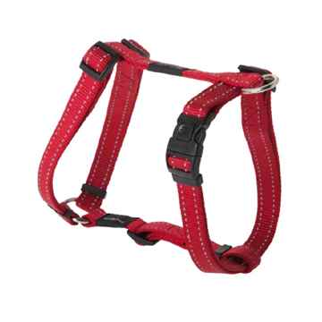 """Picture of HARNESS ROGZ UTILITY """"H"""" HARNESS FANBELT Red - Large"""