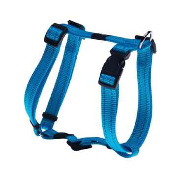 """Picture of HARNESS ROGZ UTILITY """"H"""" HARNESS FANBELT Turquoise  - Large(tu)"""