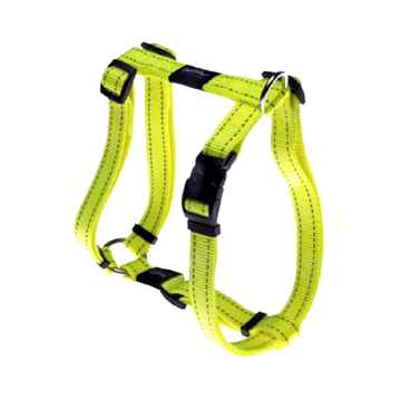 "Picture of HARNESS ROGZ UTILITY ""H"" HARNESS FANBELT Yellow - Large(tu)"