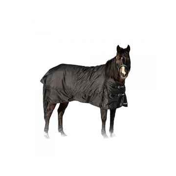 Picture of BACK ON TRACK HORSE FROST RUG BLACK 75in