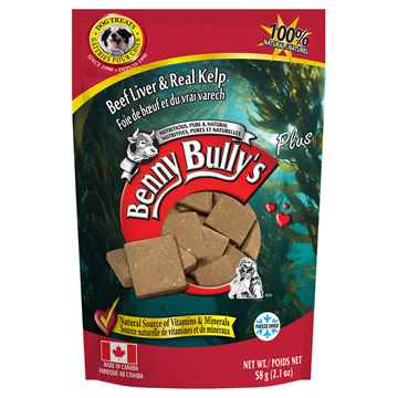 Picture of TREAT BEEF LIVER PLUS KELP Benny Bullys - 58g