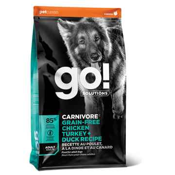 Picture of CANINE GO! CARNIVORE GF Chicken/Turkey/Duck Adult - 10kg