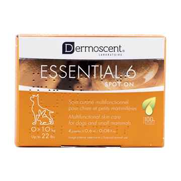 Picture of DERMOSCENT ESSENTIAL SKIN CARE FOR DOGS 1 - 10kg - 4 x .6ml