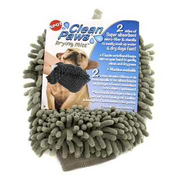 Picture of SPOT CLEAN PAWS DRYING MITT Assorted Colors - 9.5in x 7in