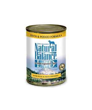Picture of CANINE NATURAL BALANCE LID GF Duck & Potato Canned - 12 x 13oz
