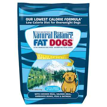 Picture of CANINE NATURAL BALANCE FAT DOG LOW CALORIE Chicken&Salmon - 5lbs