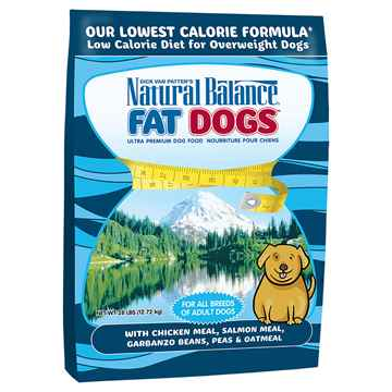 Picture of CANINE NATURAL BALANCE FAT DOG LOW CALORIE Chicken&Salmon - 28lbs