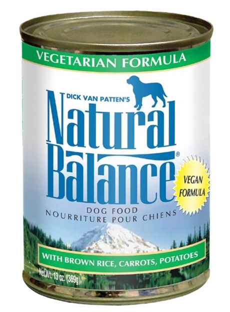 Picture of CANINE NATURAL BALANCE Vegetarian Canned  - 12 x 13oz