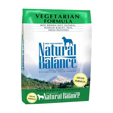 Picture of CANINE NATURAL BALANCE VEGETARIAN FORMULA DRY - 28lbs