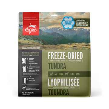 Picture of CANINE ORIJEN FREEZE DRIED DOG FOOD Tundra Formula - 16oz