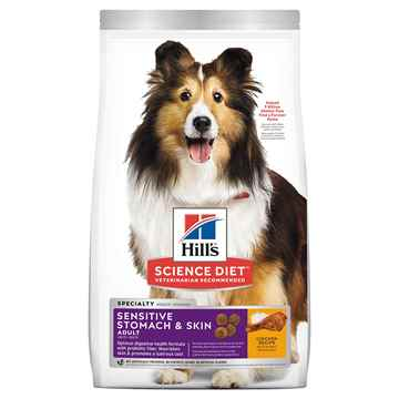 Picture of CANINE SCI DIET SENSITIVE STOMACH and SKIN - 30lbs