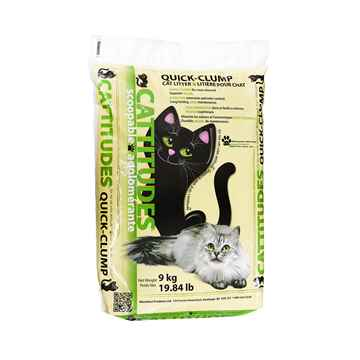 Picture of CAT LITTER CATTITUDES CLAY CLUMPING - 9kg
