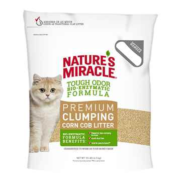 Picture of CAT LITTER NATURES MIRACLE Corn Base litter - 10lbs