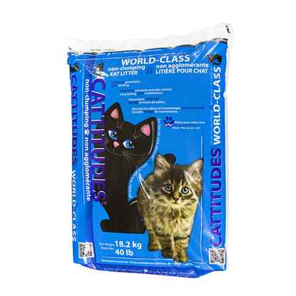 Picture of CAT LITTER CATTITUDES CLAY NON CLUMPING - 18kg