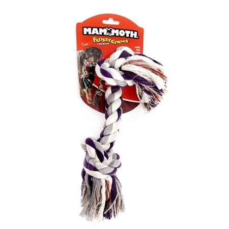 Picture of CHEW ROPE FLOSS DOG Colored (20008F)  X Large - 16in