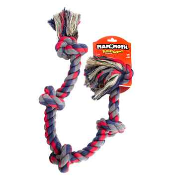 Picture of CHEW ROPE FLOSS DOG Colored Tug  X Large 5 knots - 32in