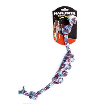 Picture of CHEW ROPE Flossy Chews Monkey Fist Bar - 18in