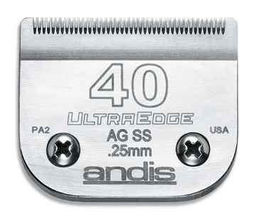 Picture of CLIPPER BLADE ANDIS ss #40 (64084) - ea