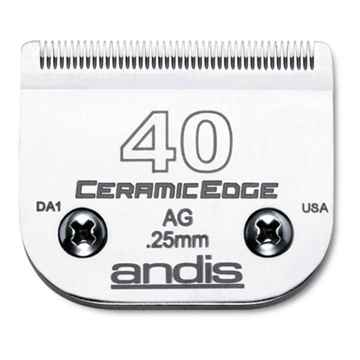 Picture of CLIPPER BLADE ANDIS Ceramic Edge #40 (64265) - ea