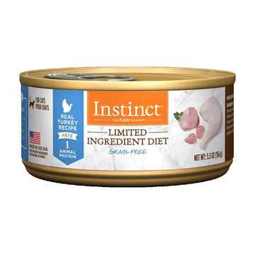 Picture of FELINE NATURE'S VARIETY INSTINCT L.I.D Turkey - 12 x 156g cans