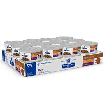 Picture of CANINE HILLS kd RENAL HEALTH BEEF & VEG STEW - 24 x 5.5oz(tu)