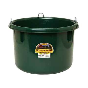 Picture of FEEDER ROUND 8 GALLON (30.3 Litre) PLASTIC GREEN - ea