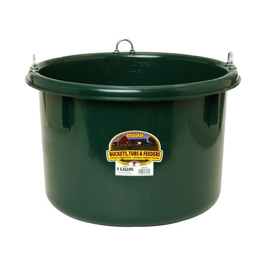 Picture of FEEDER ROUND 30.8 LITRE PLASTIC GREEN - ea