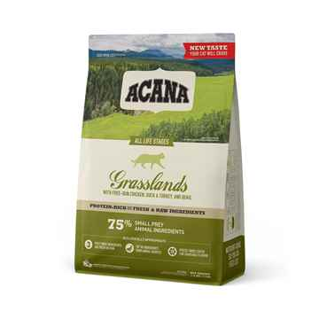 Picture of FELINE ACANA GRASSLANDS Dry Food  - 1.8 kg