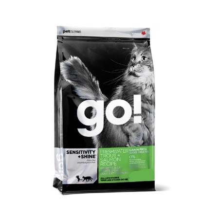 Picture of FELINE GO! SENSITIVITY+SHINE GF Trout and Salmon Dry - 3.63kg