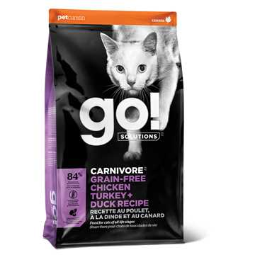 Picture of FELINE GO! CARNIVORE GF Chicken/Turkey/Duck - 7.2kg