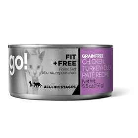 Picture of FELINE GO! Fit+Free GF Cat Chick/Turkey/Duck Pate - 24x5.5oz cans