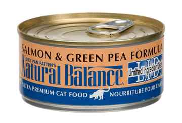 Picture of FELINE NATURAL BALANCE LID Green Pea & Salmon - 24 x 5.5oz cans(so)