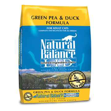 Picture of FELINE NATURAL BALANCE LID GF Green Pea & Duck - 10lbs
