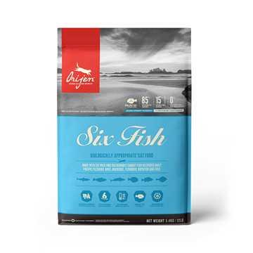 Picture of FELINE ORIJEN Six Fish Dry Food - 5.4kg
