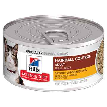 Picture of FELINE SCI DIET ADULT HB CHICKEN ENTREE - 24 x 155gm cans
