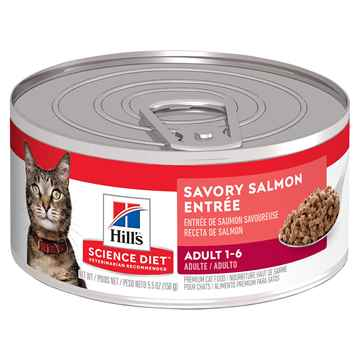 Picture of FELINE SCI DIET ADULT SALMON ENTREE - 24 x 155gm cans