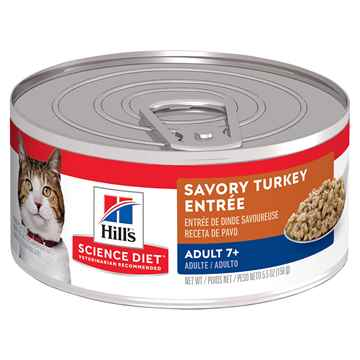 Picture of FELINE SCI DIET SENIOR TURKEY - 24 x 156gm cans