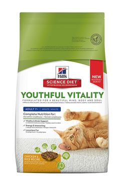 Picture of FELINE SCI DIET YOUTHFUL VITALITY 7+ CHICKEN - 13lb