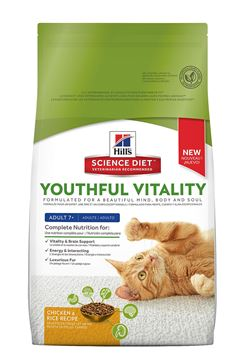 Picture of FELINE SCI DIET YOUTHFUL VITALITY 7+ CHICKEN - 6lb