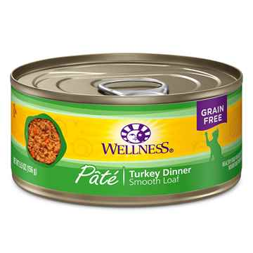 Picture of FELINE WELLNESS GF Pate Turkey Dinner - 24 x 5.5oz cans