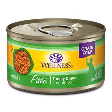 Picture of FELINE WELLNESS GF Pate Turkey Dinner  - 24 x 3oz cans