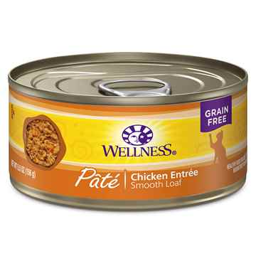Picture of FELINE WELLNESS GF Pate Chicken Entree - 24 x 5.5oz cans