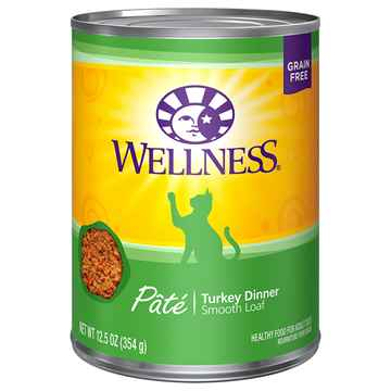 Picture of FELINE WELLNESS GF Pate Turkey Dinner - 12 x 12.5oz cans